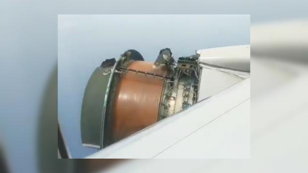 Чудесное спасение 370 человек: двигатель самолета Boeing 777 развалился во время полета