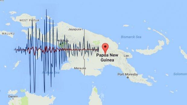 Землетрясение магнитудой 7,4 случилось натерритории Папуа— свежей Гвинеи