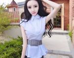 15-летняя китаянка с большими глазами и массой тела 20 кг поражает Сеть своим внешним видом