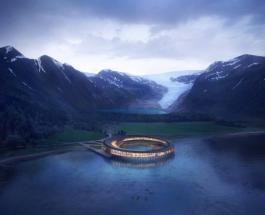 Невероятный отель в Арктике с обзором в 360 градусов