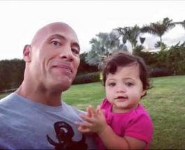 """Дуйэн Джонсон: как выглядит 2-летняя дочь звезды фильма """"Джуманджи: Зов Джунглей"""""""