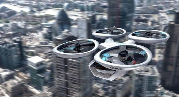 Новые технологии: Audi разрабатывает беспилотное летающее модульное такси