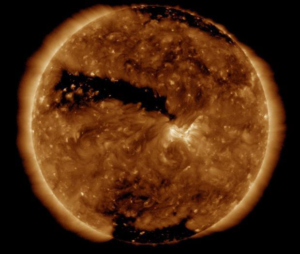 Три вспышки магнитных бурь произойдет в марте