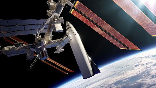 Илон Маск: первая часть марсианского космического корабля будет готова к полётам в 2019 году