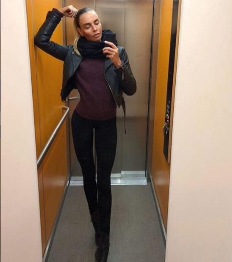 Ия Остергрен: шведская фитоняшка поражает длиной своих ног