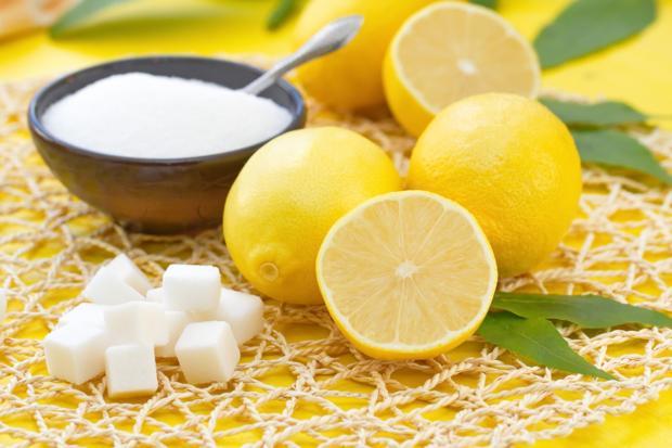Губки тоже любят лимон!