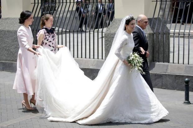 Свадебный наряд Кейт Миддлтон скопировала невеста Кристиана Ганноверского