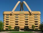 Уникальное здание в форме корзины в США