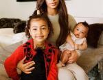 Ким Кардашьян с дочками Норд и Чикаго