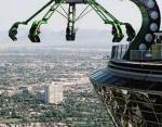 Аттракцион в Лас-Вегасе, нависающий над пропастью