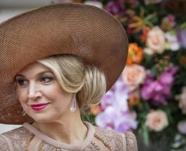 Как выглядит Королева Нидерландов Максима в одном и том же платье спустя год
