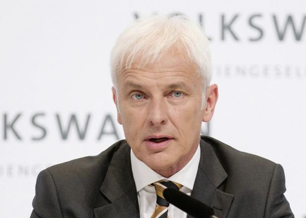 Руководитель VW Маттиас Мюллер оставляет компанию