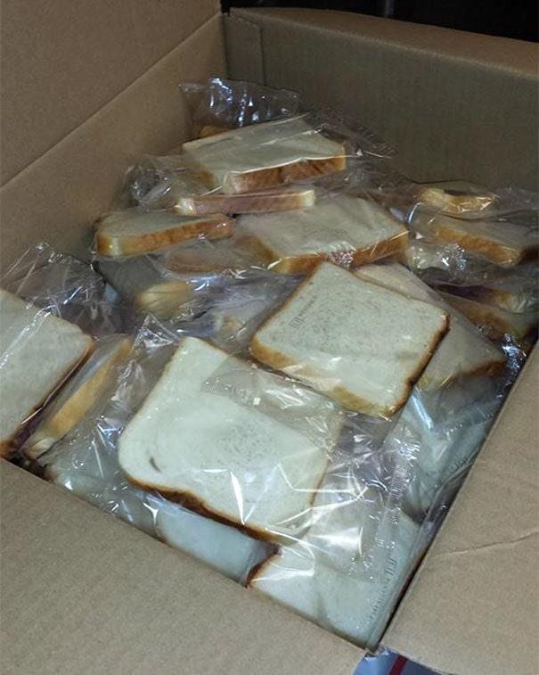 Каждому кусочку нужен свой пакетик