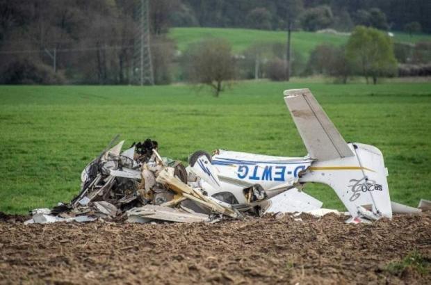 В Германии не разминулись два легкомоторных самолета: оба пилота погибли
