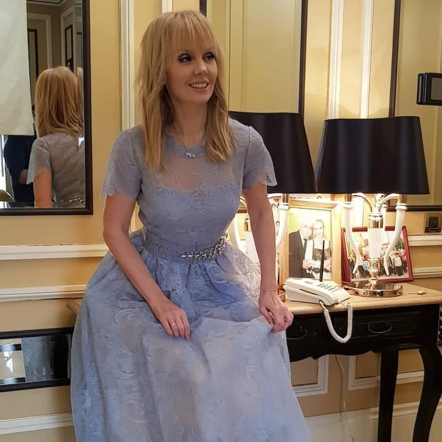 Эстрадная певица Валерия отмечает 50-летие