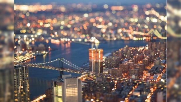 Американец впечатляет пользователей Сети интересными снимками маленького Нью-Йорка