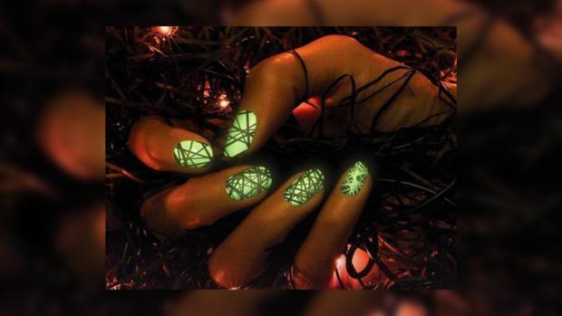 Узоры на ногтях: идеи светящегося маникюра для зажигательных вечеринок