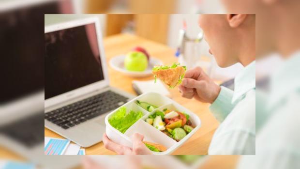 Правильный обед в офисе