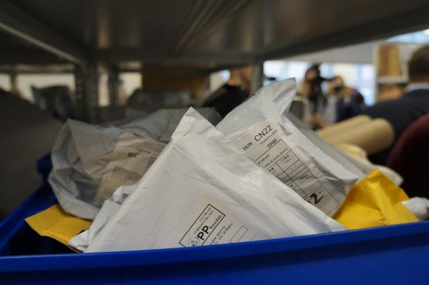Ящик с конвертами