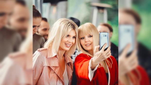 певица Валерия и Анна Шульгина
