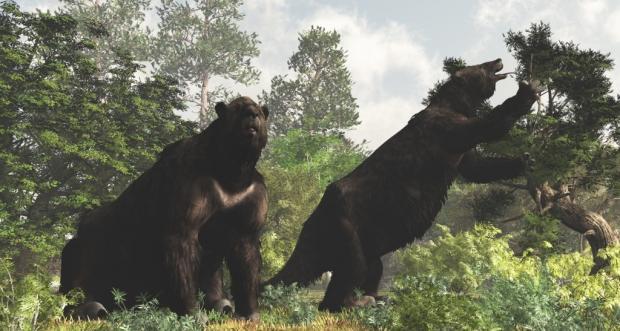 Ученые поведали осмертельной схватке старинных людей игигантского ленивца
