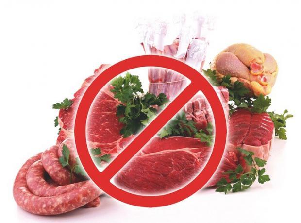 Головокружение при отказе от мяса
