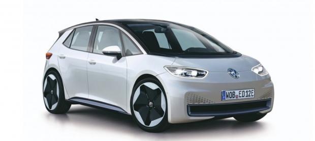 Volkswagen Neo: в Сеть попали первые фото новинки от немецкого автопроизводителя