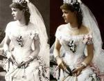 Принц Леопольд,герцог Олбани и Елена Вальдек-Пирмонтская - 27 апреля 1882