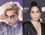 Леди Гага - шатенка