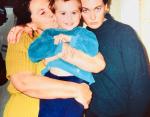 Лариса Гузеева с мамой и сыном