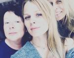 Оля Фреймут с мамой и свекровью