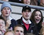 Уильям, Гарри и Кейт на матче регби 2007