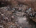 Пластиковая река в Косово