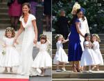 Подружкой невесты Кейт была ее сестра Пиппа - Принцесса Шарлотта выполнила эту роль для Меган
