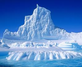 Голова Трампа высеченная во льдах Арктики станет наглядным примером глобального потепления
