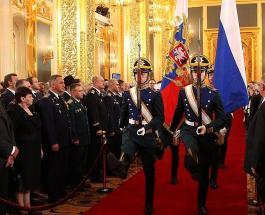 Инаугурация Владимира Путина: как проходит торжественная церемония