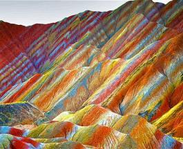 Радужные горы в Перу: удивительное природное явление поражает красотой и игрой красок