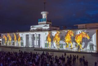 В Киеве открылся Lights Festival: мастера из 23 стран соревнуются на Почтовой площади