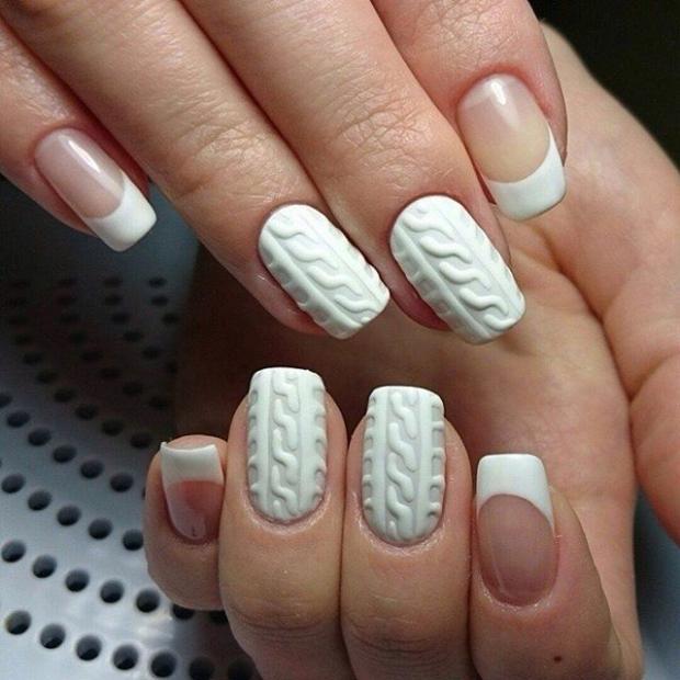 Гель нанесенный на ногти