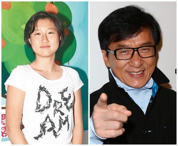 джеки чан и дочь