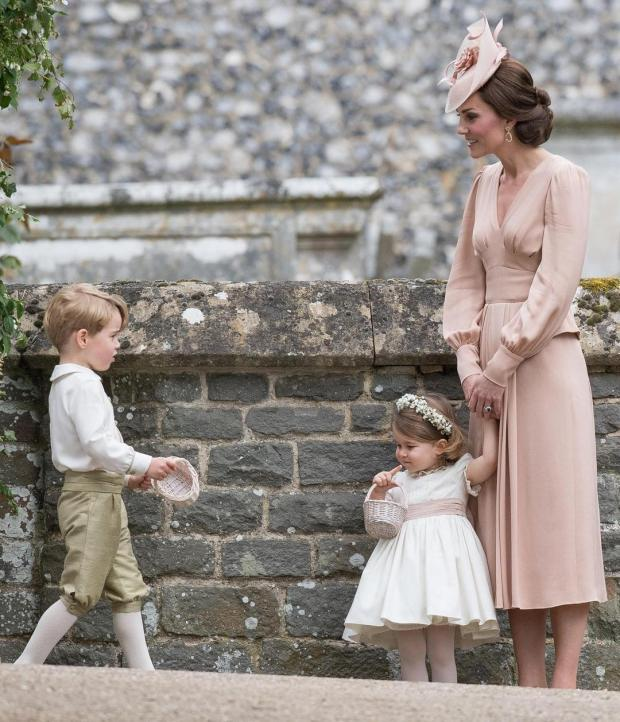 Принц Джордж и Принцесса Шарлотта примут участие в свадьбе своего дяди