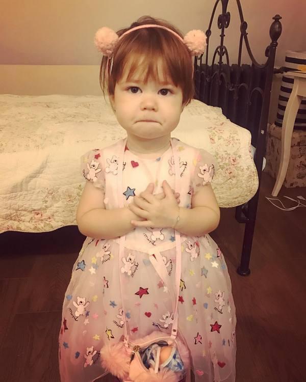 Дочь Екатерины Климовой умилила Сеть: 2-летняя малышка командует огромным догом