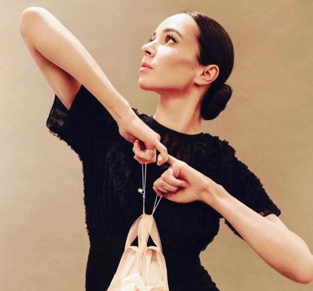 Русская  балерина Вишнева родила ребенка