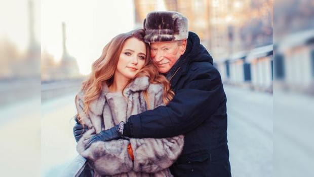 Иван Краско: молодая жена известного актера выглядит намного старше своих лет