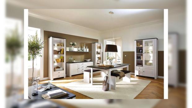 Комната с мебелью