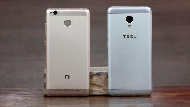 Телефоны Meizu и Xiaomi