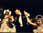 Принц Чарльз на карнавале в Бразилии в 1978 году