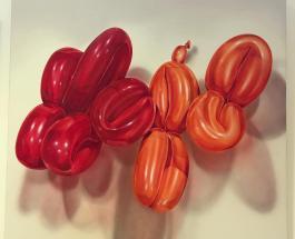 Поразительный талант: художник из Швеции рисует невероятно реалистичные воздушные шары
