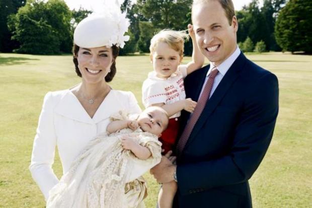 Стала известна дата крестин меньшего  сына принца Уильяма иКейт Миддлтон