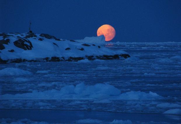 Зима в Антарктиде